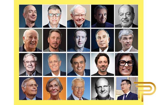 شغل پولدارترین افراد جهان